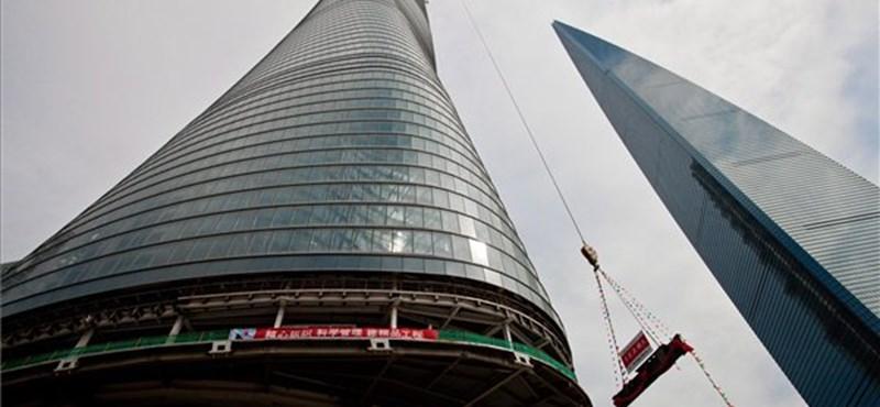 Sokkoló a kínai cement-boom