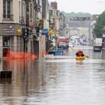 Árvíz: katasztrófahelyzetet hirdetnek ki Franciaország egyes részeire