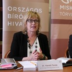 A vizsgálódó nemzetközi szervezettel sem volt hajlandó beszélni Handó Tünde