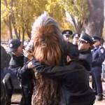 Letartóztatták Chewbaccát Ukrajnában