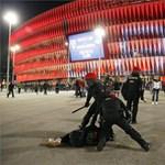 Meghalt egy rendőr az orosz ultrákkal való összecsapás közben Bilbaóban