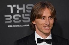 Rossi és Dzsudzsák is Modricot tette az első helyre az Év játékosa-szavazáson