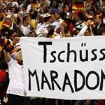 Terítéken Maradona jövője
