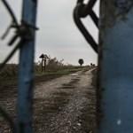 Haverok tava Hatvanban, fegyveres őrrel védett terület