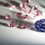 Bemutatták a világ egyik legritkább gyémántját - fotó