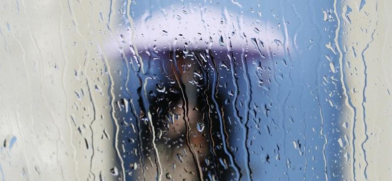Egész álló nap esni fog, nem is akármennyit