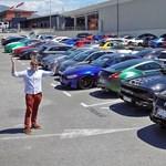 Komoly szuperautó-gyűjteményt hozott össze lefoglalt autókból a monacói rendőrség