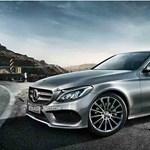 Teljes pompájában látható az új Mercedes C-osztály