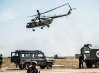 Lezuhant egy katonai helikopter Horvátországban