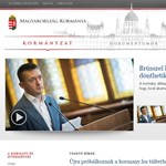 Külföldről támadták meg a kormány weboldalát