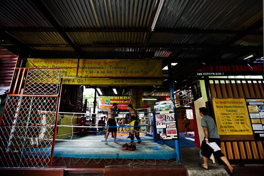 Thai Bokszolók thaiföld nagyítás