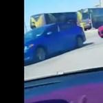 Így néz ki az első sorból egy 130 millió forintos baleset – videó