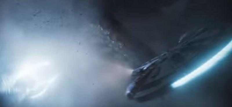 Itt a Han Solo-film hosszabb előzetese
