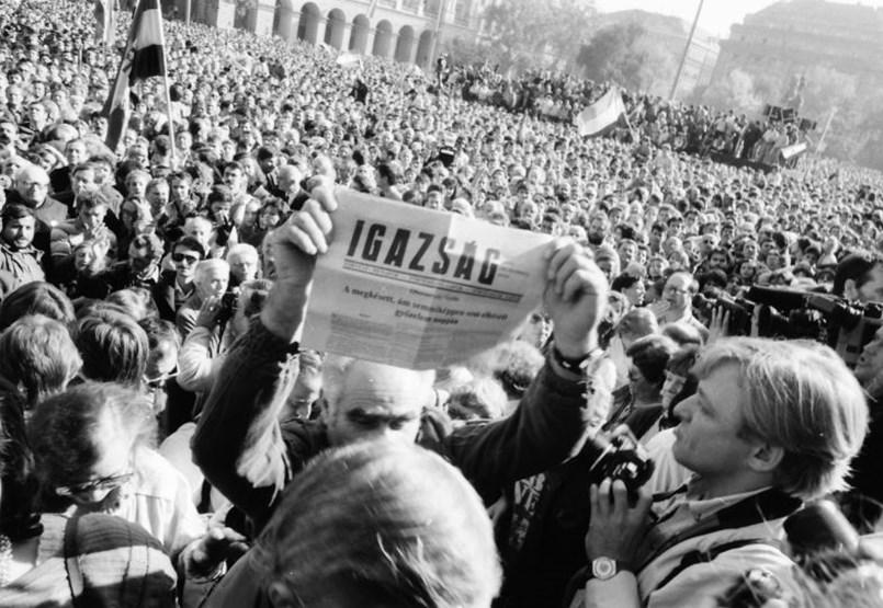 """Éppen 30 éve született meg a """"közepesen erős köztársaság"""""""