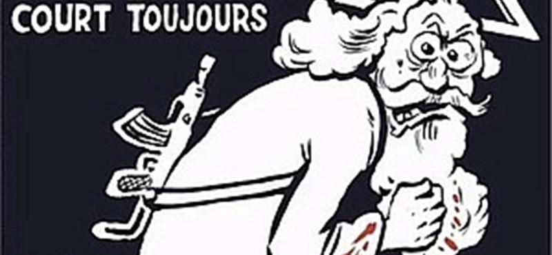 Kalasnyikovos Istennel emlékezik a Charlie Hebdo - címlapfotó