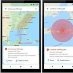 Okosodik a Google Maps, árvizeket, földrengéseket és hurrikánokat is jelez majd