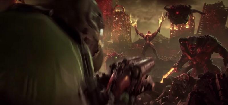 Végre: jön a Doom folytatása, itt az első előzetes