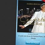 12 days of Christmas - mai letöltés: O sole mio (Andrea Bocelli)