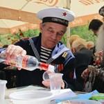Januárban 441 orosz itta magát halálra, ami komoly javulás