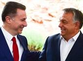 Fotót közölt egy albán lap arról, hogy Gruevszki vezette a magyar diplomataautót