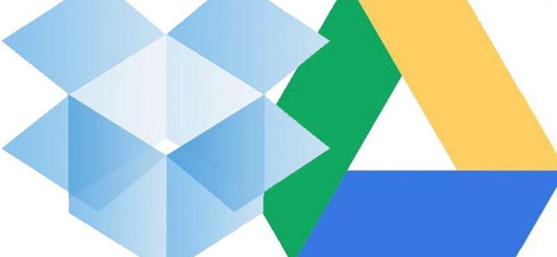 Szülinapi kérdés: Dropbox vagy Google Drive?