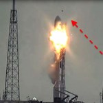 """Ezt hívná Széles Gábor """"megdöbbentő ufófelvételnek"""": furcsa dolgot rögzített a kamera, amikor felrobbant az űrrakéta"""
