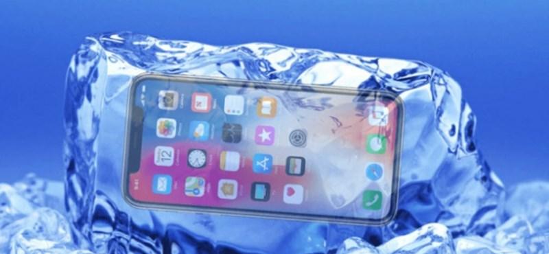 Ez lehet az iPhone X Achilles-sarka? Mi lesz itt télen az iPhone-osokkal?