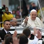 Ferenc pápa Csíksomlyón