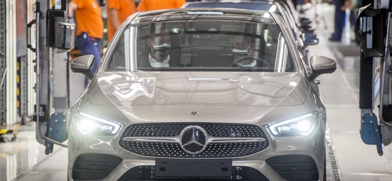Hiros.hu: Leállt a kecskeméti Mercedes-gyár