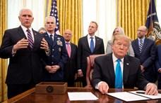 Trump döntött, megkezdődik az amerikai űrhaderő felállítása