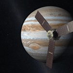 Elküldte az első fotót a Jupiterhez érkező űrszonda