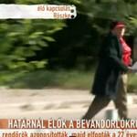 A TV2 futtatta meg Irénke nénit a szerb határon