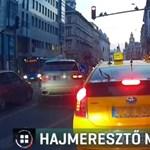 Ilyen az autós, akit egyáltalán nem érdekelnek a szabályok - videó