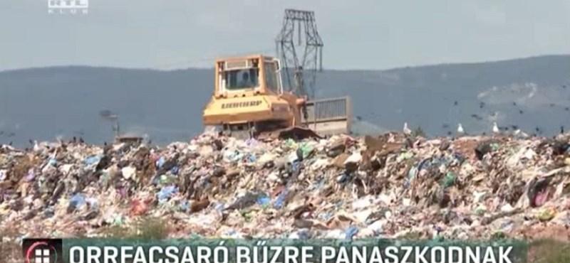 Még mindig bűztől és zajtól szenvednek a királyszentistváni hulladéklerakónál élők
