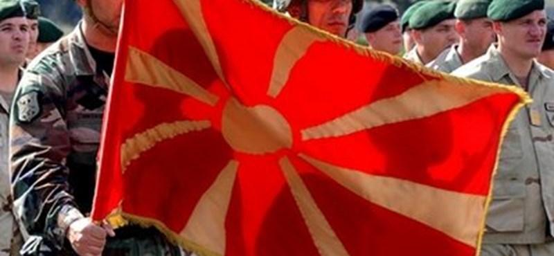 Megint utcára vonultak a macedónok államfőjük ellen