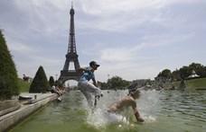 Franciaország rekordmelegre készül, Párizsban is precedens nélküli lesz a kánikula