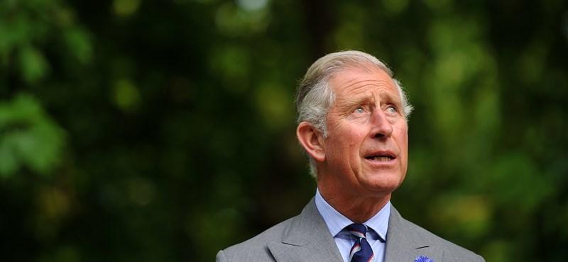 Károly herceg kikerült a karanténból