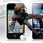Durvul az okostelefonok körüli szabadalomháború