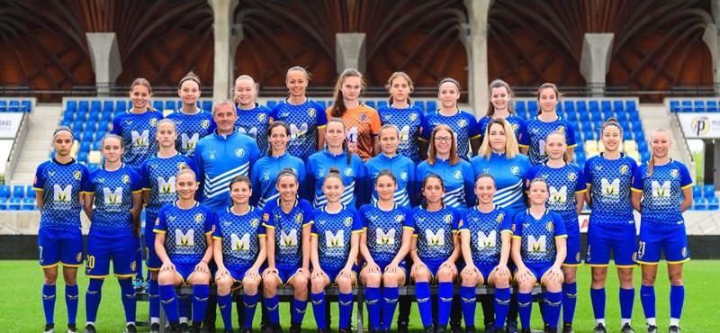 Egy éve alakult, máris feljutott az első osztályba a Felcsút női focicsapata
