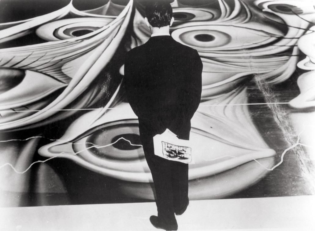 afp. nagyítás - Salvador Dali 110 éve született - Spellbound (1945) La Maison du Docteur Edwardes