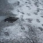 Hét megyében figyelmeztetnek ónos esőre a meteorológusok