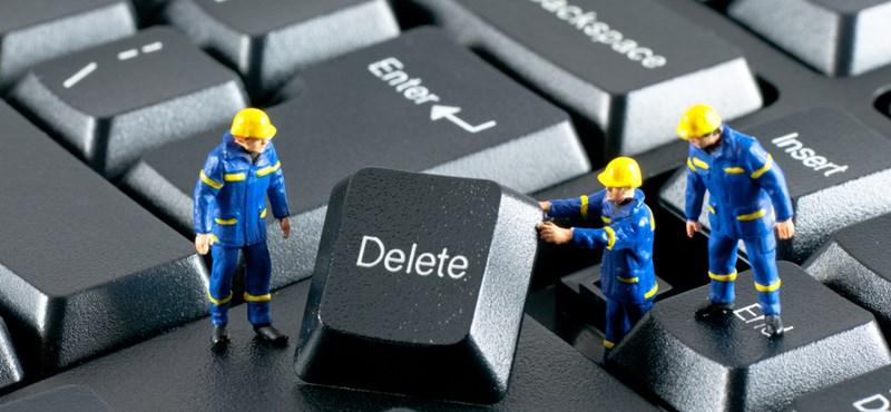 Így törölheti a törölhetetlen fájlokat és mappákat