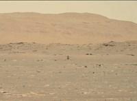 Már videón is látható, ahogy helikoptert reptet az emberiség a Marson