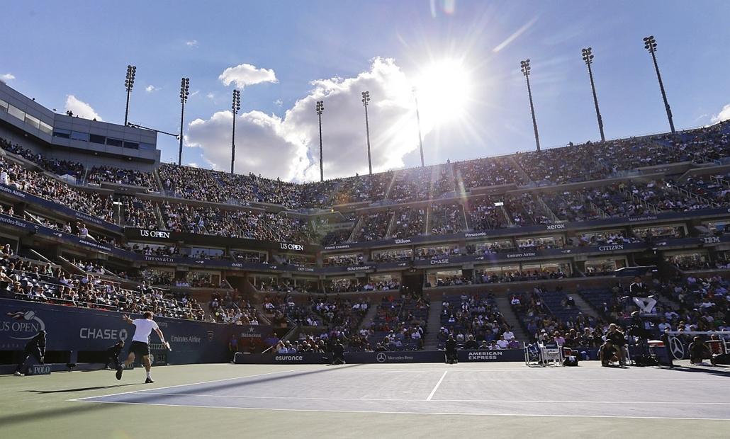 Andy Murray - Novak Djokovic (Gyokovics) - US Open döntő