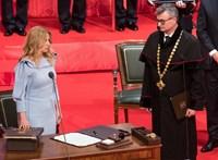 Beiktatták Szlovákia első női államfőjét