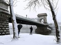 Megszépítette Budapestet az első igazi hó – fotók