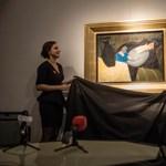 Megtaláltak egy 90 éve eltűnt, világhírű magyar festményt – fotó