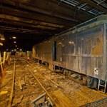 Fényképek a Waldorf-Astoria alatti titkos vasúti bejáratról