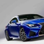 Képeken a Lexus kétajtós agresszora