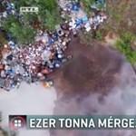 Ezer tonna méreg miatt riadóztat a Greenpeace Kiskunhalason